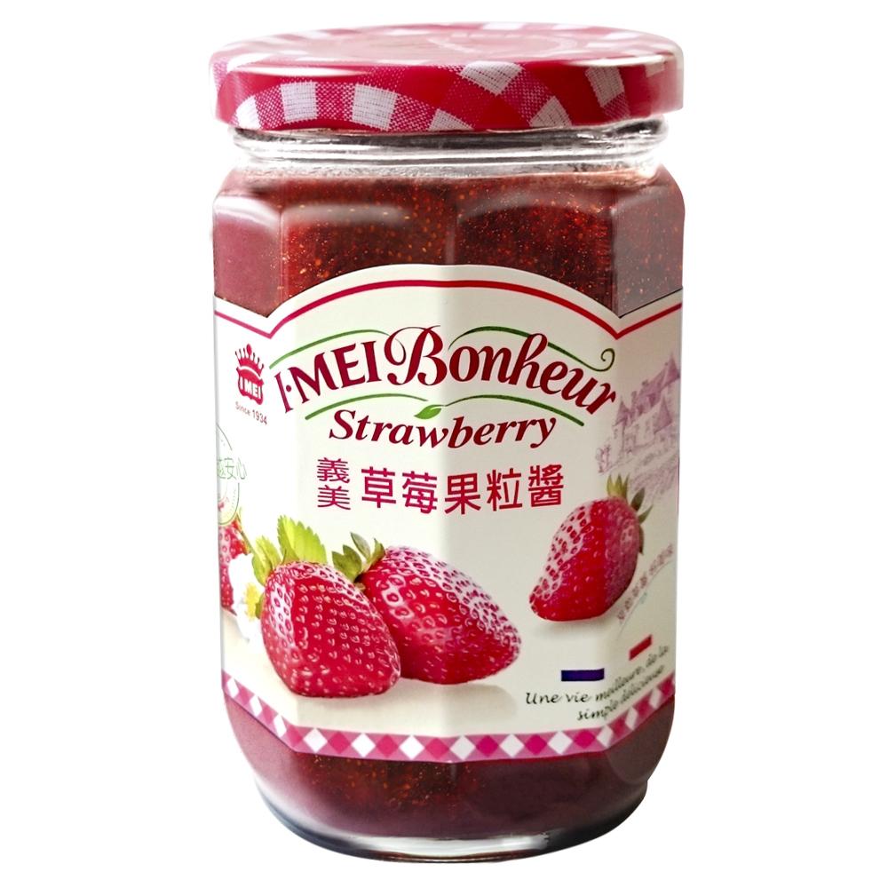 義美草莓果粒醬