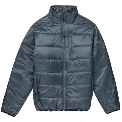 HUF Geode Puffer Jacket Blue Mirage S 送料無料