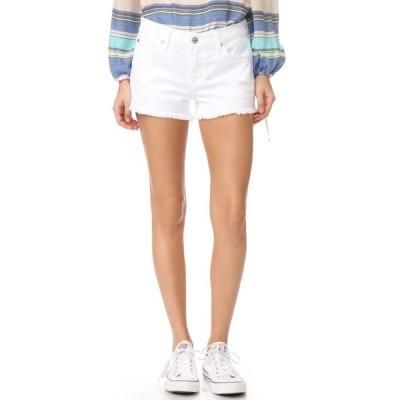 セブン フォー オール マンカインド 7 For All Mankind レディース ショートパンツ ボトムス・パンツ Cutoff Shorts Clean White
