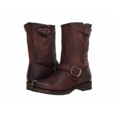 Frye フライ レディース 女性用 シューズ 靴 ブーツ ライダーブーツ Veronica Short Redwood Washed Oiled Vintage【送料無料】