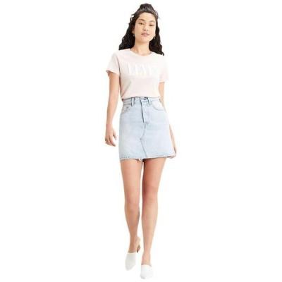 リーバイス レディース スカート ボトムス High-Rise Deconstructed Boyfriend Skirt