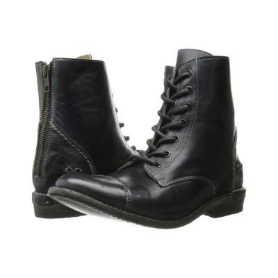 ベッドステュ Bed Stu レディース シューズ・靴 Laurel Black Rustic Leather
