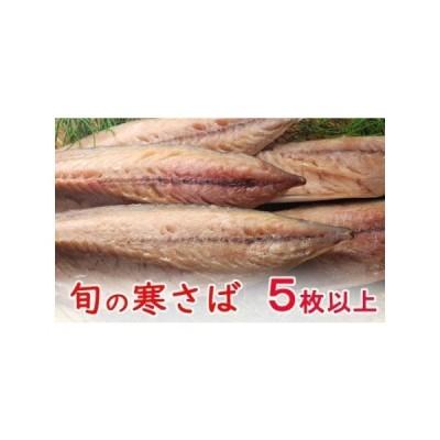 ふるさと納税 NK022今だけ!室戸旬どれ寒さば干物5枚以上  高知県室戸市