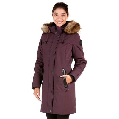 海外バイヤー厳選ブランド コート ジャケット Women's Dania Blue/Grey/Purple Polyester/Spandex Polyfil Coat