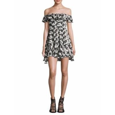 ラブシャックファンシー レディース ワンピース Izzy Silk Printed Dress