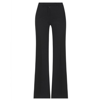 BOULE DE NEIGE パンツ ブラック 38 ポリエステル 72% / レーヨン 25% / ポリウレタン 3% パンツ