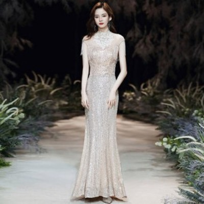 パーティードレス ロング ドレス フォーマル イブニングドレス ウェディング 演奏会 結婚式 ドレス 大きいサイズ xl 2xl 3xl マーメイド