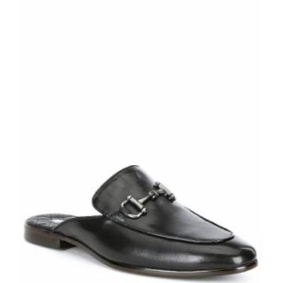 スティーブ マデン メンズ スリッポン・ローファー シューズ Men's Dazling Leather Mules Black
