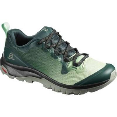 サロモン レディース ブーツ・レインブーツ シューズ Salomon Women's Vaya Shoe Green Gables/Spruce Stone/Shadow