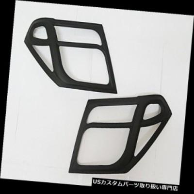 ヘッドライトカバー 日産ナバラD40用ヘッドライトマットマットブラックペアトリムカバー2005-09 07 08  COVER