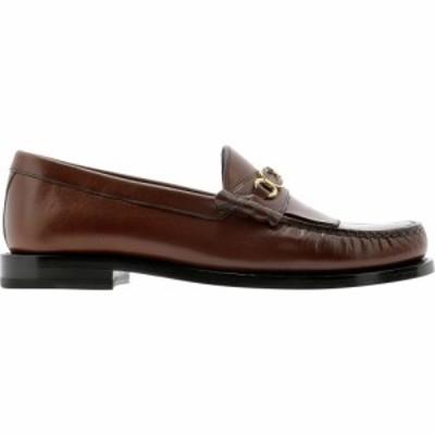 セリーヌ Celine レディース ローファー・オックスフォード シューズ・靴 Luco Triomphe Loafers Brown