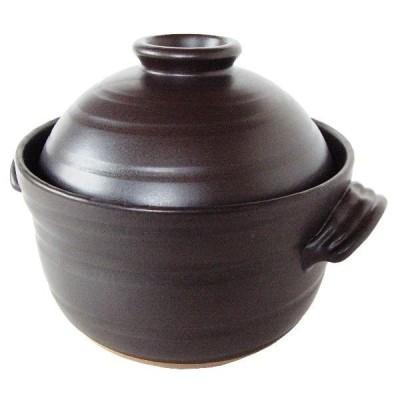 萬古焼 炊飯土鍋 4合炊き かまど炊きのような美味しいご飯が炊けます。