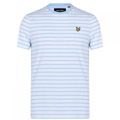 ライル アンド スコット Lyle and Scott メンズ Tシャツ トップス Breton T-Shirt DBlue/Nvy