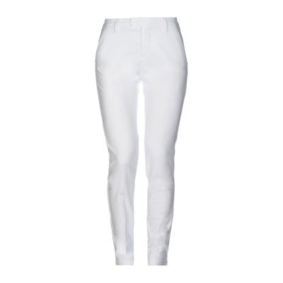 MICHAEL COAL パンツ ホワイト 31 コットン 60% / ポリエステル 35% / ポリウレタン 5% パンツ