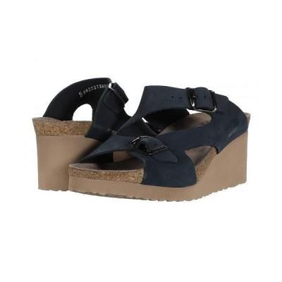 Mephisto メフィスト レディース 女性用 シューズ 靴 ヒール Terie - Navy Sandalbuck