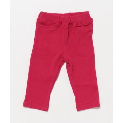 パンツ [ベビー]Orangehakka やわらか9分丈ストレッチパンツ