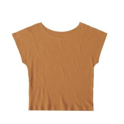 【ATSUGI公式】 UNCLOSE アンクローズ リブTシャツ 47144HS tシャツ レディース 半袖 綿100%
