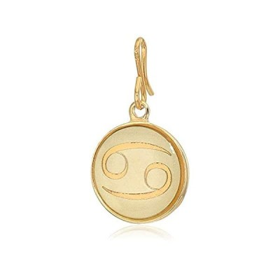 Alex and Ani Women's Etching Charm Cancer Small 14kt Gold Plated, Expandabl
