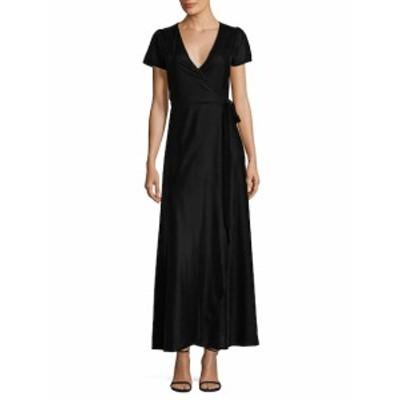 ファースト サイト レディース ワンピース Velvet Wrap Dress