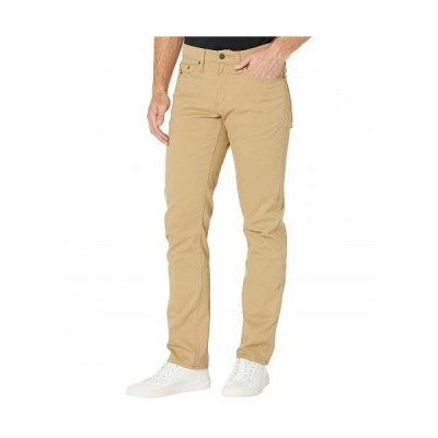 U.S. POLO ASSN. USポロ メンズ 男性用 ファッション パンツ ズボン Slim Straight Stretch Five-Pocket Pants - Honey