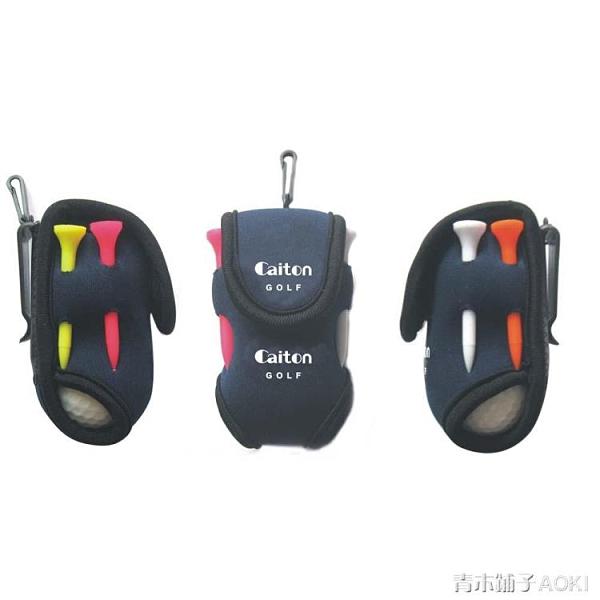 高爾夫球小腰包 小球袋 配件包高爾夫配件袋 GOLF小球包 新款 ATF青木鋪子