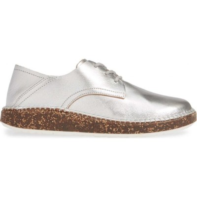 ビルケンシュトック BIRKENSTOCK レディース ローファー・オックスフォード ダービーシューズ シューズ・靴 Gary Convertible Derby Silver Leather