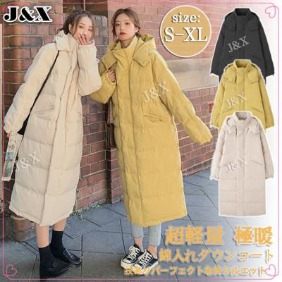 韓国ファッション 大人気 綿服/ロングコート/コート/レディース服/綿服ジャケット/コットン/レディースファッション/ 厚手