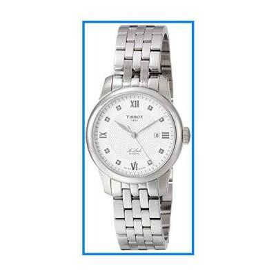 (輸入品)Tissot Le Locle Automatic Diamond Silver Dial Ladies Watch T006.207.11.036.00