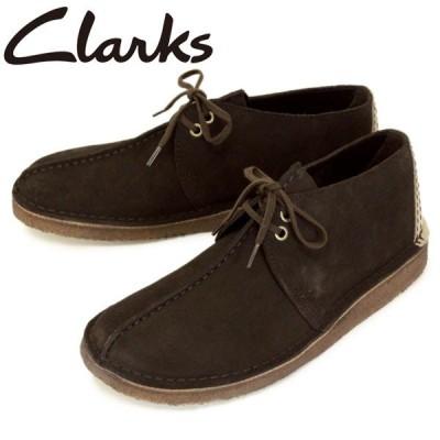 Clarks (クラークス) 26138087 Desert Trek デザートトレック メンズシューズ Dark Brown CL006