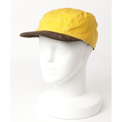 BEAMS MEN / cableami / コーデュロイつば パラフィン キャップ <MEN・UNISEX> MEN 帽子 > キャップ