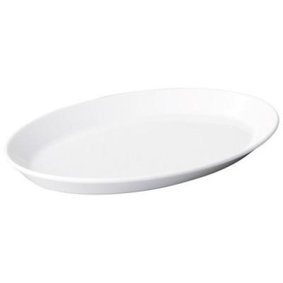 ☆ 楕円皿 ☆パシオン ピュアホワイト 27cm オーバルプラター [ L 27 x S 18.3 x H 2.7cm ] 【 飲食店 レストラン ホテル カフェ 洋食器 業務用 】