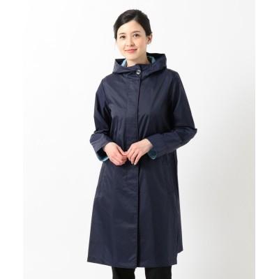 【オンワード】 MOONBAT>ファッション雑貨 FULTON パーカーレインコート ダークパープル M レディース 【送料無料】