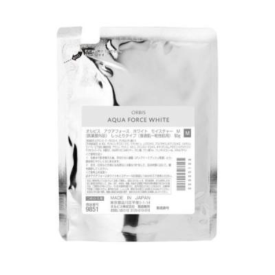 美容液 オイル クリーム ORBIS(オルビス) アクアフォースホワイトモイスチャー M(しっとりタイプ)・つめかえ用 (保湿液)