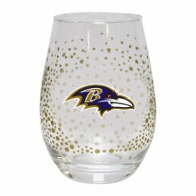 The Memory Company ザ メモリー カンパニー スポーツ用品  Baltimore Ravens Glitter Stemless Tumbler