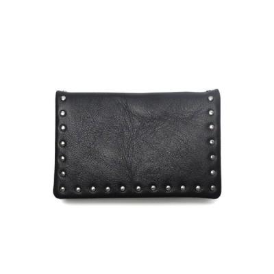 名刺入れ Leather card case 'corner studs' KS カードケース