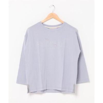 tシャツ Tシャツ NUEVO BLANCA / ヌエヴォブランカ フロント家刺繍プルオーバー (M5)