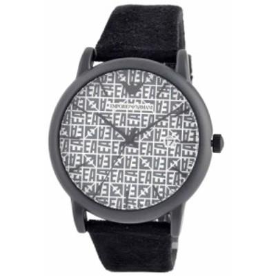 [即日発送]エンポリオアルマーニ メンズ 腕時計/EMPORIO ARMANI ロゴ柄 モノグラム柄 腕時計