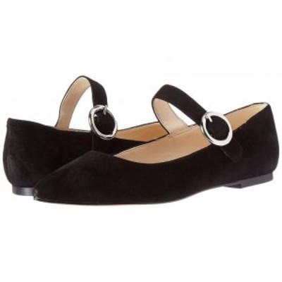 Nine West ナインウエスト レディース 女性用 シューズ 靴 フラット Aimee Black【送料無料】