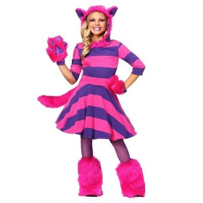 ディズニー 仮装 子供 コスチューム 人気 ふしぎの国のアリス チェシャ猫 コスチューム 女の子 キャラクター 動物 コスプレ 衣装 仮装