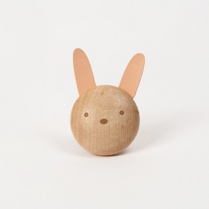 【Jeantopia】木質車用擴香夾 兔子