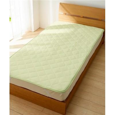 吸汗速乾タオル地敷きパッド 敷きパッド・敷パッド, ベッドパッド, Bed pats(ニッセン、nissen)