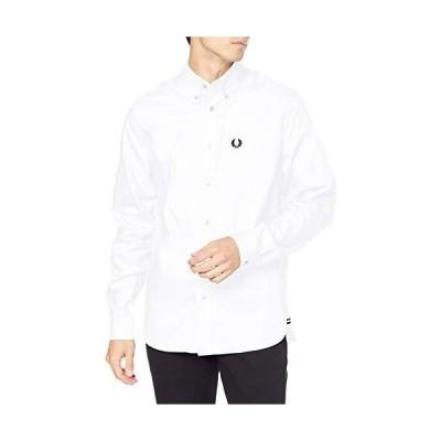 [フレッドペリー] 長袖シャツ OXFORD SHIRT SM9071 メンズ WHITE UK S (日本サイズM相当)