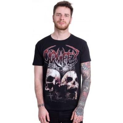 インペリコン Impericon メンズ Tシャツ トップス - Two Skulls - T-Shirt black