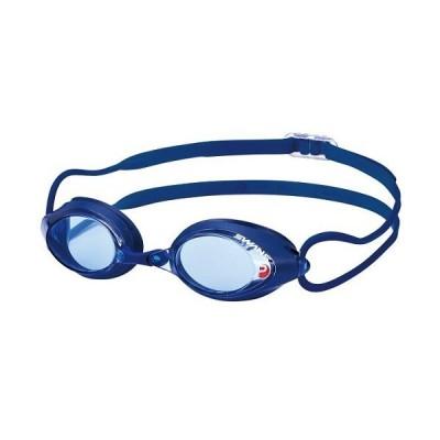 SWANSスイムゴーグル SRX-NPAF カラー:BL/004 競泳向けレーシングモデル クッション付モデル。アイカップ/ブルー