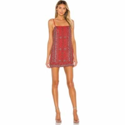 ハウスオブハーロウ1960 House of Harlow 1960 レディース ワンピース ワンピース・ドレス x REVOLVE Kristian Dress Red