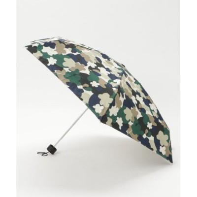 B'2nd Womens / Kiu(キウ)晴雨兼用/TINY SILICONE UMBRELLA/折り畳み傘/カモフラワー WOMEN ファッション雑貨 > 折りたたみ傘