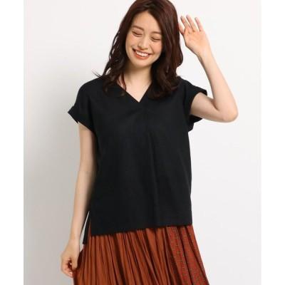 Dessin / デッサン レーヨン麻ライトシャツ