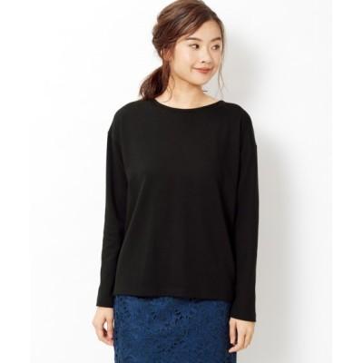 【大きいサイズ】 バックツイストカットソートップス(FIFTH) plus size T-shirts, テレワーク, 在宅, リモート