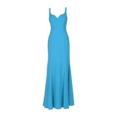 BADGLEY MISCHKA ロングワンピース&ドレス アジュールブルー 0 ポリエステル 98% / ポリウレタン 2% ロングワンピース&ドレス