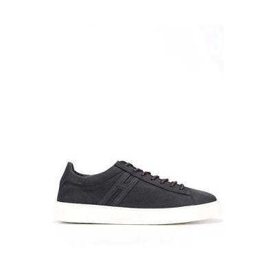 Hogan Luxury Fashion Man HXM3650J9606RNU810 Blue Leather Sneakers | Spring Summer 20 並行輸入品